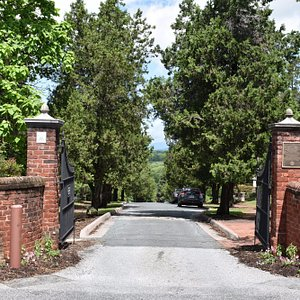 The Entrance to Lynchburg's Old City Cemetery