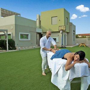 Swedish massage outdoors!