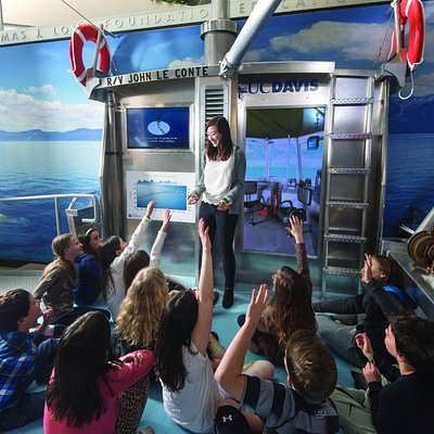 Learn about the research conducted on Lake Tahoe aboard the Research Vessel