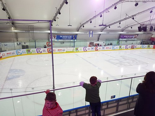 Ice rink from above