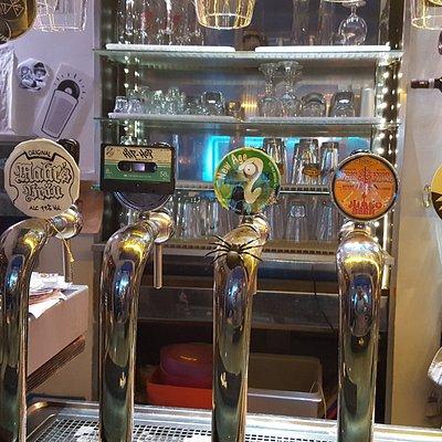 Great craft beers.