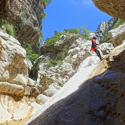 Une belle journée canyoning dans le Riolan