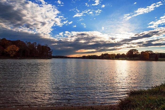Sunset on Beautiful Lake Norman In Mooresville, North Carolina
