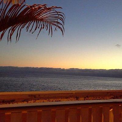Aperçu du sunse - terrasse du Maktub de Paul do Mar