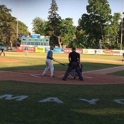 Beautiful park for baseball