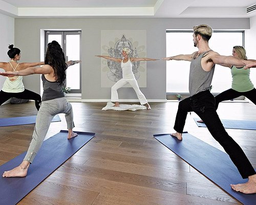 Samsara Mind and Body is a wellness studio in southwest London offering yoga, Pilates, and a ran