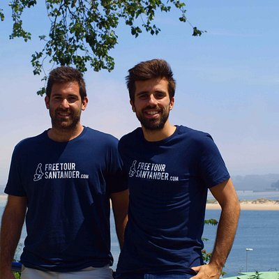 Fer & Diego. Founders of Free Tour Santander