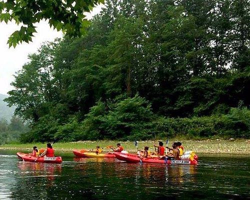 Actividades en el río Nalón