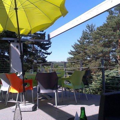 terase s výhledem