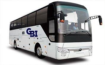 50 Seater Luxury Coach Bus