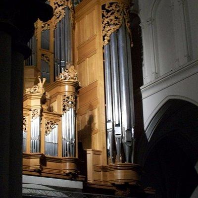 l'orgue (en partie)