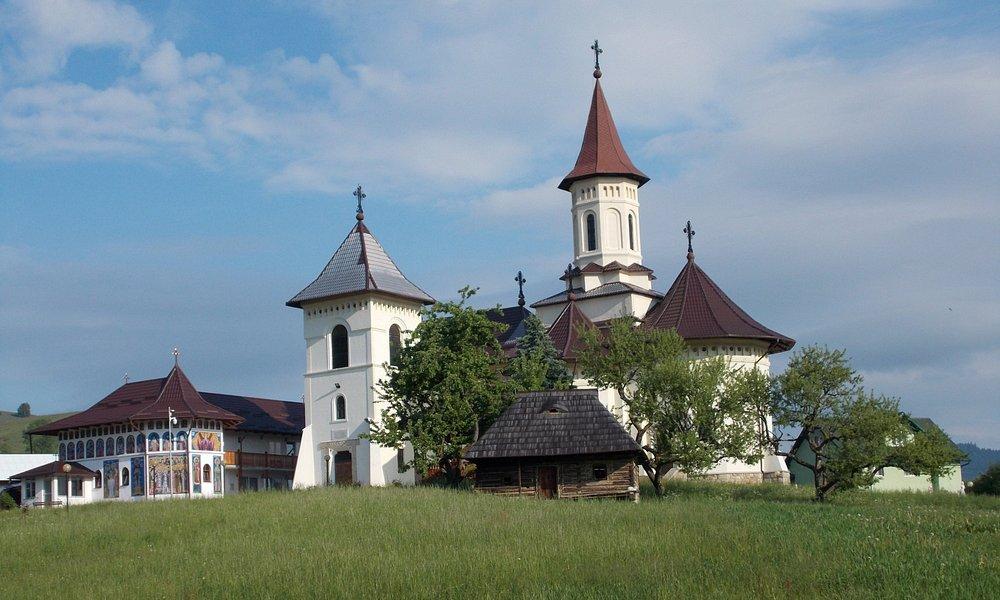Il nuovo monastero costruito nei pressi del vecchio
