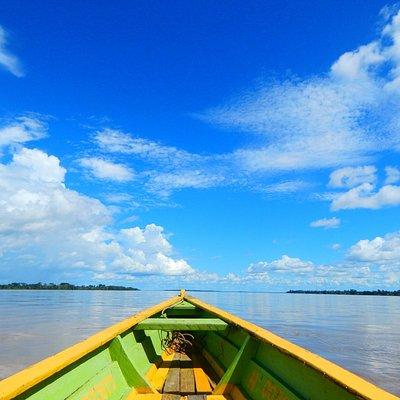 Amazon tour, Navega el gran rio Amazonas con nosotros.