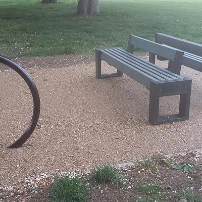 New feature in the park.