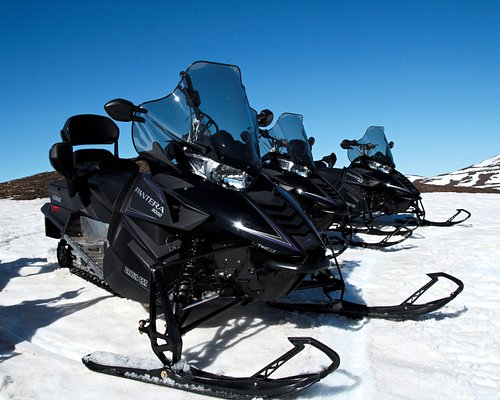 We offer Snowmobile tours in the Lake Myvatn area in the wintertime.