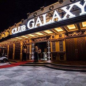 The Club Entrance.