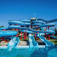 East Park is home to the biggest and best waterpark for miles around! The park has 7 waterslides