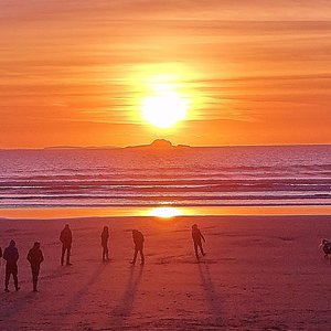 Sunset At Banna Beach