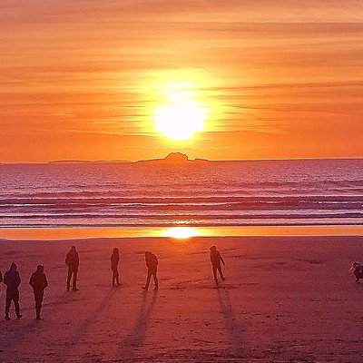 Sunset At Banna Beach