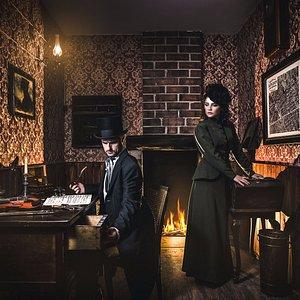 "Photo from the escape room ""Sherlock Holmes vs London Devil"""