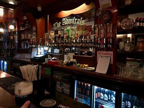 inside The Admiral Pub