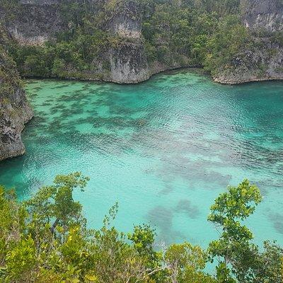 Star Lagoon @Pianemo Island Raja Ampat