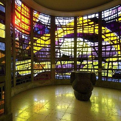 Vitraux de l'église du Sacré-Coeur d'Audincourt