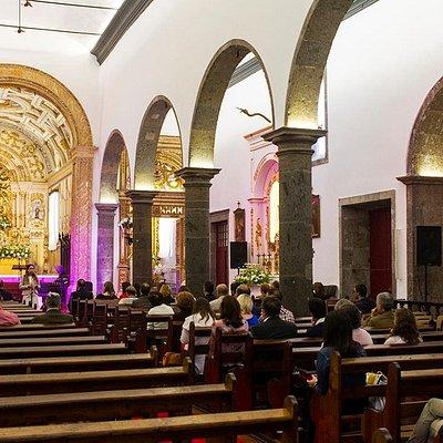 Igreja - Momento da Inauguração