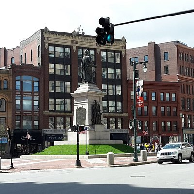 statue and square