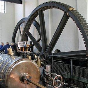 Stoomgemaal Arkemheen - stoommachine van het gemaal