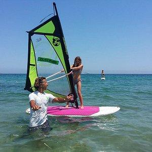 Windsurf private class Ibiza