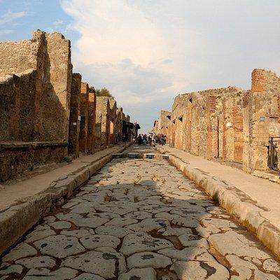 Main road in Pompeii