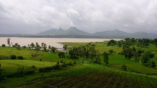 View in the monsoon