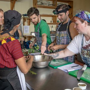 Cooking class April