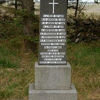 Fællesgrav for 8 druknede fiskere, 26. marts 1885