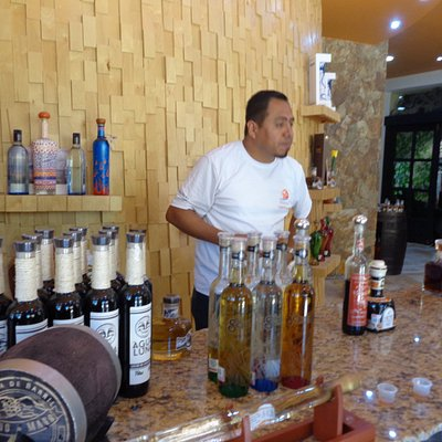 Tequila tasting at Lighthouse Tequila