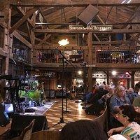 Inside Big Barn