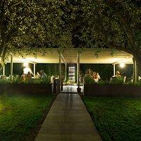Il Giardino la sera