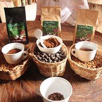 Variedades de café ofrecidas