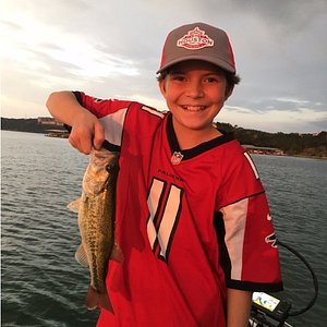 Fishing with John Syers of Hardly Overtime at Lake Travis