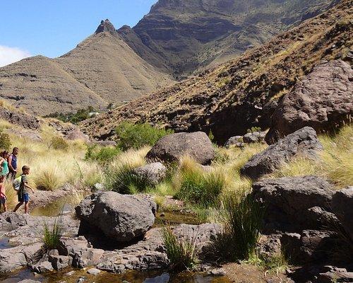 Kleine Wasserstellen im Tal