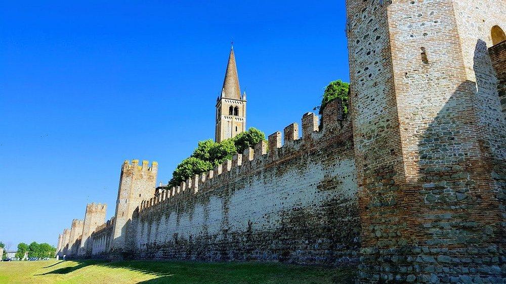 Parte delle mura di Montagnana