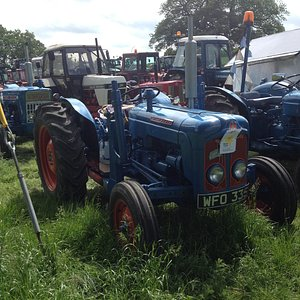 For fans of The Archers - a Fordson!!!