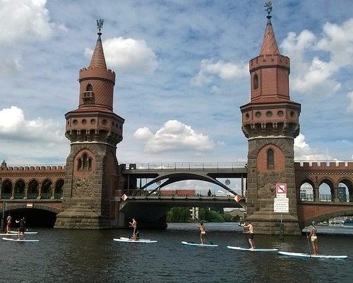 Berlin vom Wasser aus - Stand Up Paddling zwischen Ost und West