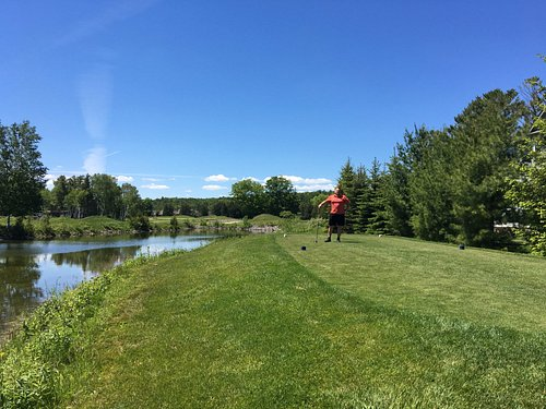 beautiful view on the course - well...mostly