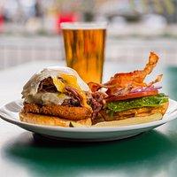 Farmer's Breakfast Burger