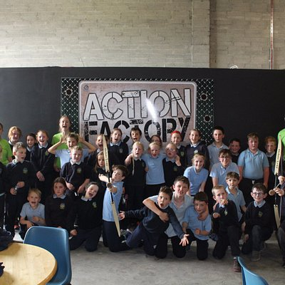 Our first School Tour to the Action Factory
