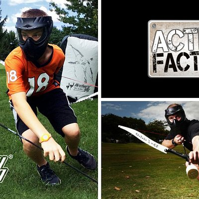 Archery Tag at the Action Factory