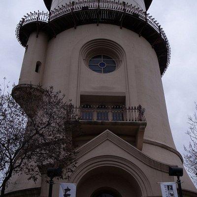 Fresno Water Tower, Downtown Fresno