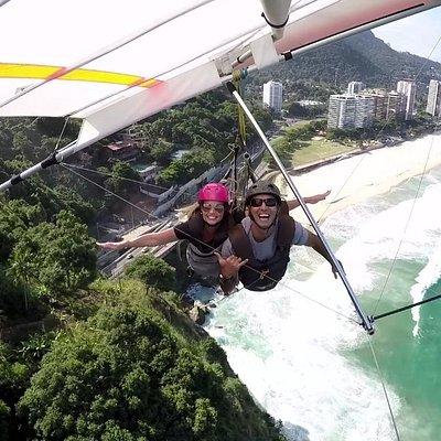 Voando no Rio de Janeiro!